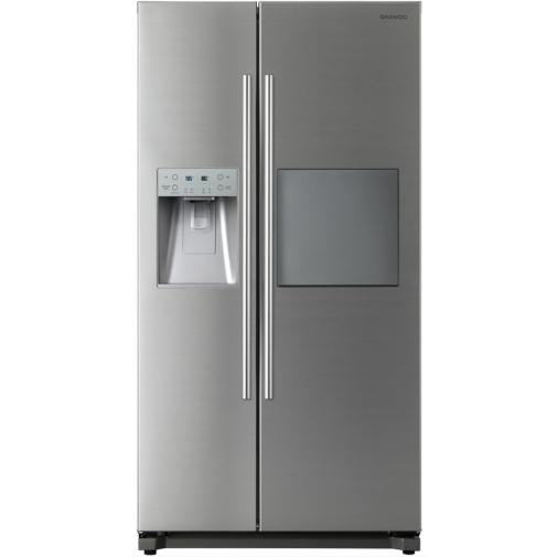 Daewoo FRN Q39F2S Americká lednice nerez s minibarem + DÁREK