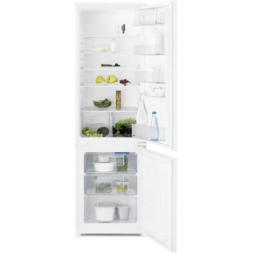 Electrolux ENN2800AJW + AKCE, Vestavná kombinovaná lednice A+, 177cm