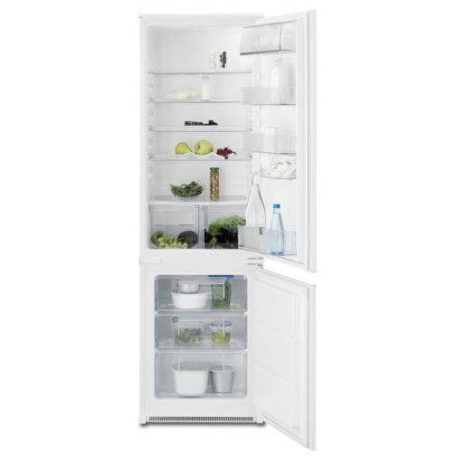 Electrolux ENN2801BOW Vestavná lednice s mrazákem dole A+,177cm