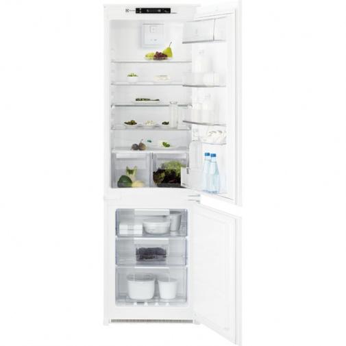 Electrolux ENN2853COW Vestavná lednice s mrazákem dole A+,177cm, NoFrost