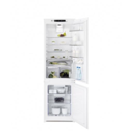 Electrolux ENT8TE18S NoFrost  Vestavná lednice kombinovaná ,177cm, Nízkoteplotní zásuvka