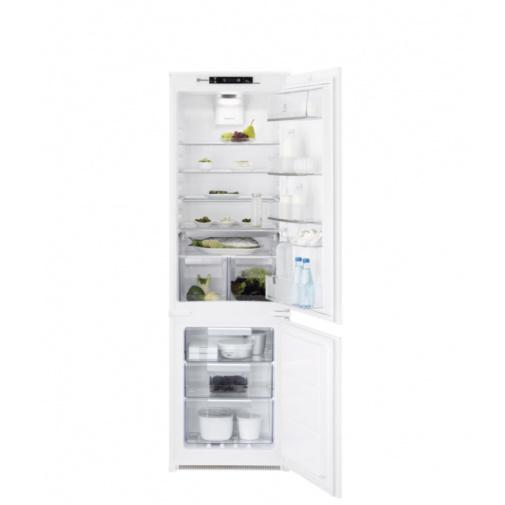 Electrolux NoFrost ENT8TE18S Vestavná lednice kombinovaná A++,177cm, Nízkoteplotní zásuvka
