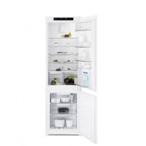 Electrolux LNT7TF18S NoFrost Vestavná lednice s mrazákem dole, 177cm