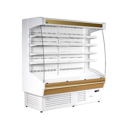 JUKA MARTINI 190/90 Chladicí vitrína přístěnná, ventilované chlazení
