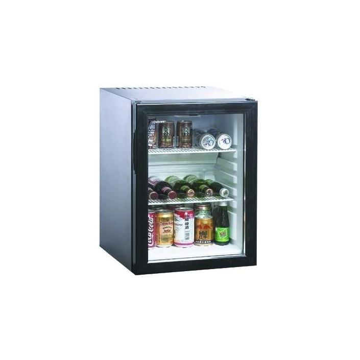 Asteks AM40G Prosklený minibar absorpční pro komerční účely - AKCE