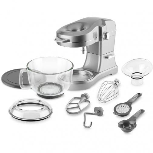 Catler KM 8020 Kuchyňský robot celokovový stříbrný 1000W