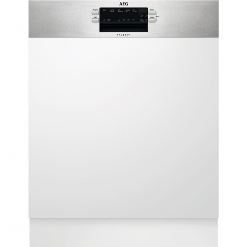 AEG Mastery FEE53600ZM Vestavná myčka nádobí s panelem 60cm, A+++, 13sad, AirDry