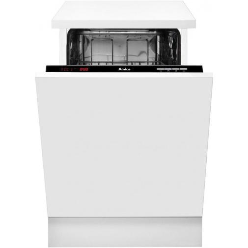 Amica MI 426 AGB + AKCE, Vestavná myčka nádobí 45cm, A++/A/A, Systém HotAir