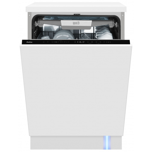 Amica MI 639 BLDC Plně vestavná myčka nádobí 60cm, SteamPower Pro, OpenDry