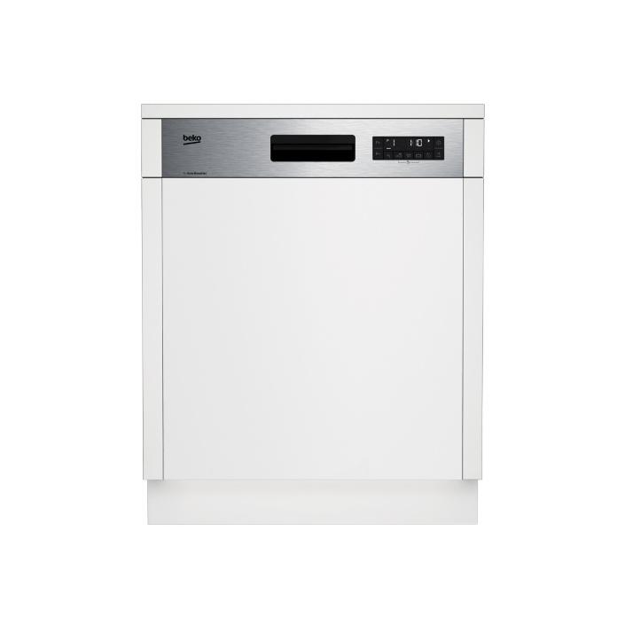 Beko DSN 26420 X Vestavná myčka s panelem 60cm, 14sad, A++, GlassShield, Quick&Clean