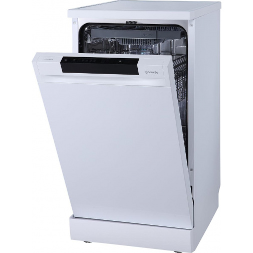 Gorenje GS541D10W Advanced Myčka nádobí bílá 45cm, TotalDry, ClickClack