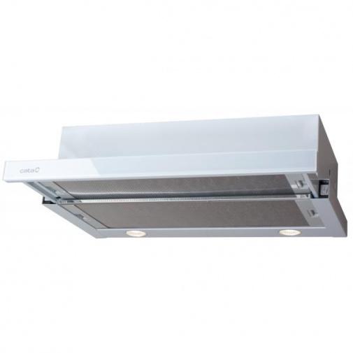Cata TF 2003 600 bílé sklo + AKCE, Digestoř výsuvná 60cm, 340m3/hod