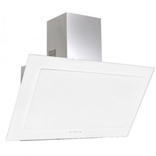 Cata Empire VIP KD 536060 + Dárek%, Digestoř komínová 60cm, nerez/bílé sklo, 822m3/hod