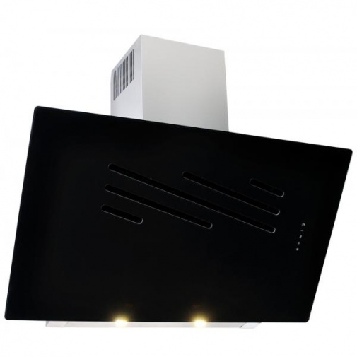 Cata Empire VIP KD 535090 + AKCE%, Digestoř komínová 90cm, nerez/černé sklo
