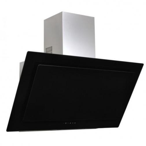 Cata Empire VIP KD 526060 + AKCE, Digestoř komínová 60cm, nerez/černé sklo + dálkové ovládání