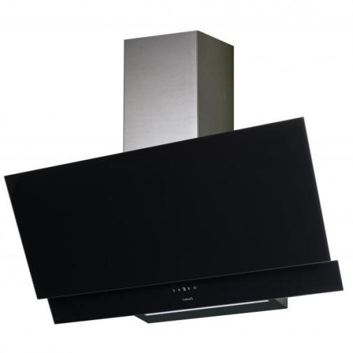 Cata JUNO A+ 600 černé sklo/nerez + AKCE, Digestoř komínová 60cm
