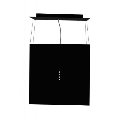 Cata EMPIRE VIP LD 601040 + Dárek%, Ostrůvková lustrová digestoř černá, 210m3/hod