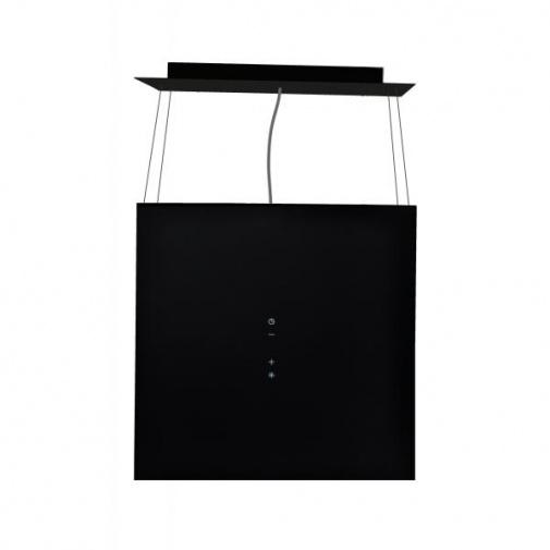 Cata EMPIRE VIP LD 602040 + Dárek%, Ostrůvková lustrová digestoř 40cm, černá/sklo, 726m3/hod