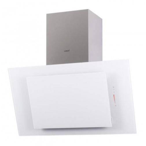 CATA THALASSA A+ 900 bílá + DÁREK, Digestoř komínová šikmá 90cm, Nerez/Mléčně bílé sklo, 780m3/hod