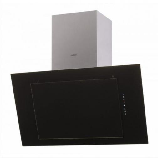 CATA THALASSA A+ 900 + Dárek%, Digestoř komínová šikmá 90cm, Nerez / černé sklo, 780m3/hod