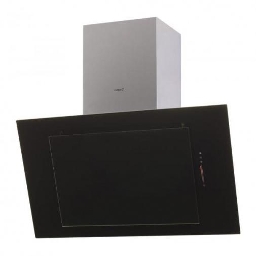 Cata THALASSA A+ 700 + DÁREK, Digestoř šikmá 70cm, nerez / černé sklo, 780m3/hod