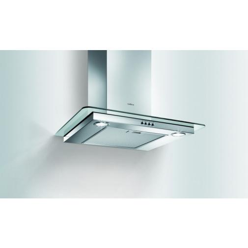 Elica Flat Glass IX/A/60 + AKCE, Digestoř komínová 60cm, nerez/sklo