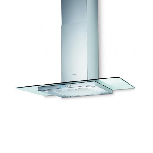 Elica Flat Glass IX/A/90 + DÁREK, Digestoř komínová 90cm