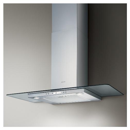 Elica Flat Glass Plus IX/A/90 + Dárek% a Záruka 5 let, Digestoř komínová 90cm