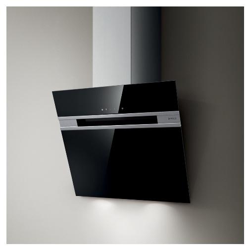 Elica Stripe Lux BL/A/60 + AKCE, Digestoř komínová 60cm, černé sklo/nerez + Záruka 5 LET