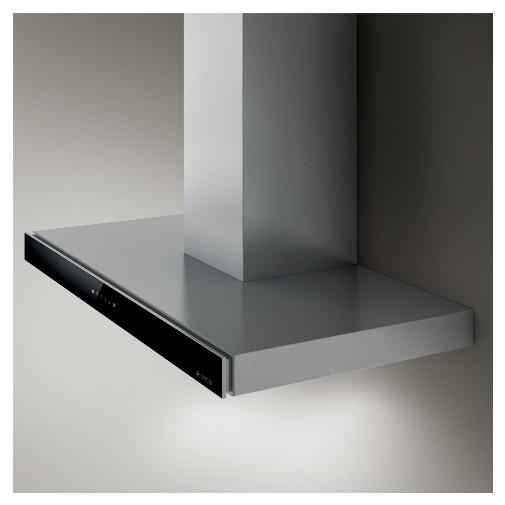 Elica Joy BLIX/A/60 + Dárek a Záruka+, Digestoř komínová 60cm, nerez/černé sklo