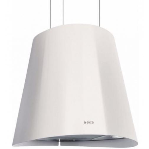 Elica Juno WH/F 50 + AKCE, Designová digestoř ostrůvková, bílá, 50cm + Záruka 5 LET