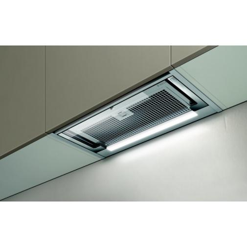 Elica Glass Out IX/A/90 + AKCE, Digestoř výsuvná 90cm, nerez/sklo
