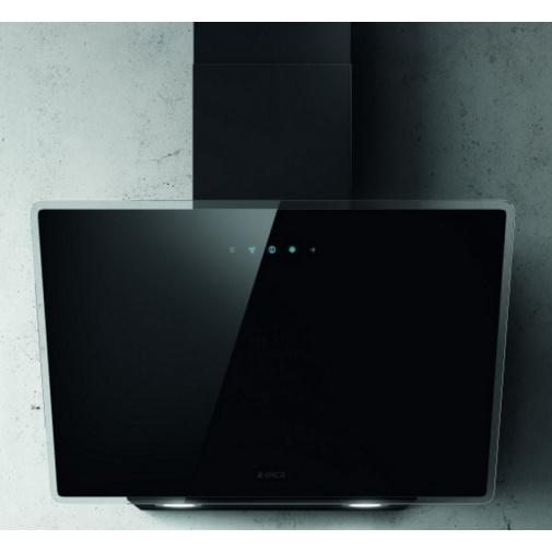 Elica Shire BL/A/60 Komínová digestoř 60cm, černá/černé sklo + Záruka 5 LET