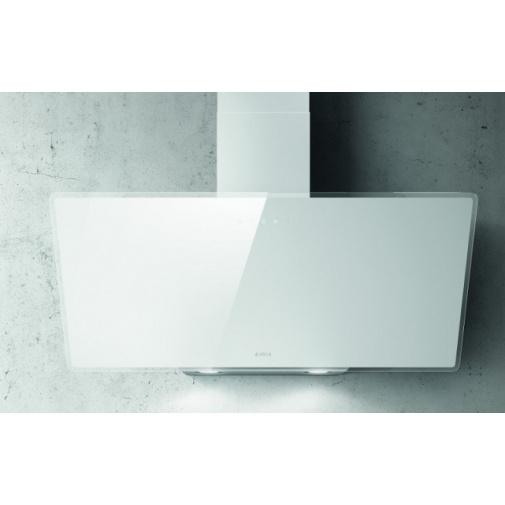 Elica Shire WH/A/90 + DÁREK, Digestoř nástěnná 90cm, bílá/bílé sklo + Záruka 5 LET