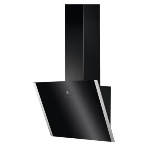 Electrolux EFV60657OK 600 FLEX LEDSpot Odsavač par komínový šikmý černý 90cm