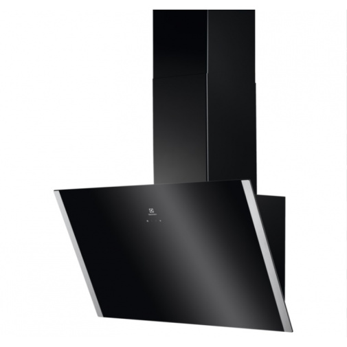 Electrolux EFV90657OK 600 FLEX LEDSpot Odsavač par komínový černý 90cm