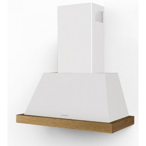 Faber Thea EV8 WH MATT A 80 SC + AKCE, Digestoř komínová 80cm, bílá mat bez rámu