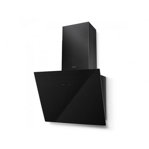 Faber Tweet EV8 BK A55 + DÁREK + Záruka 5 LET, Digestoř komínová 55 cm, černá/černé sklo