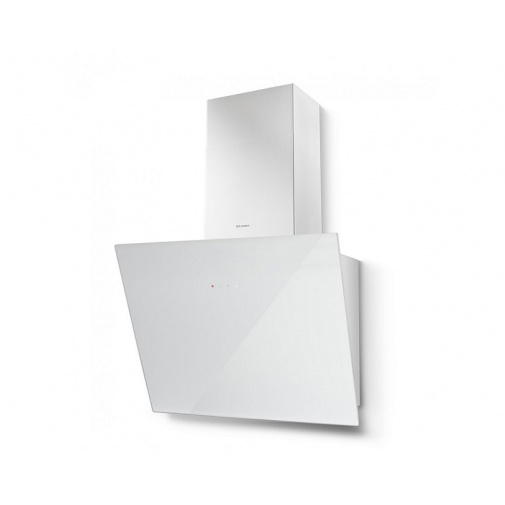 Faber Tweet EV8 WH A55 + AKCE Záruka 5 LET, Digestoř komínová 55 cm, bílá/bílé sklo