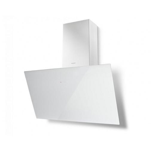Faber Tweet EV8 WH A80 + AKCE Záruka 5 let, Digestoř komínová 80cm, bílá/bílé sklo