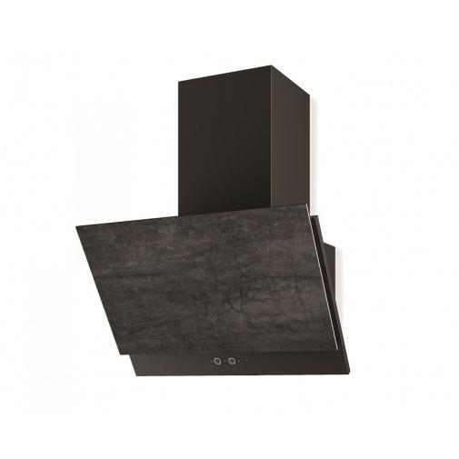 Faber GREXIA GRES DG/BK A60 + AKCE Záruka 5 let, Digestoř šikmá 60cm, černá/tmavě šedá kamenina