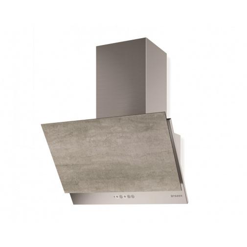 Faber GREXIA GRES LG/X A60 + AKCE, Digestoř šikmá 60cm, nerez/světle šedá kamenina, 690m3/hod