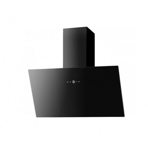 Faber VRT BK A90 + AKCE Záruka 5 let, Digestoř šikmá 90cm, černá/černé sklo