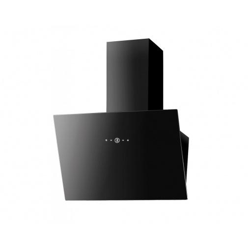 Faber VRT BK A60 + AKCE, Digestoř šikmá 60cm, černá/černé sklo, 580m3/hod