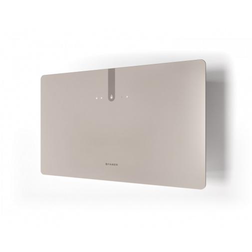 Faber GLAM FIT ZERO DRIP PLUS SAND MATT A80 + AKCE Záruka 5 let, Komínová digestoř bílá / pískové sklo mat 80cm