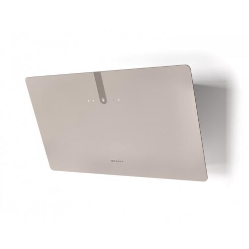 Faber GLAM LIGHT ZERO DRIP PLUS SAND A80 + AKCE Záruka 5 let, Komínová digestoř bílá/pískové sklo mat 80cm