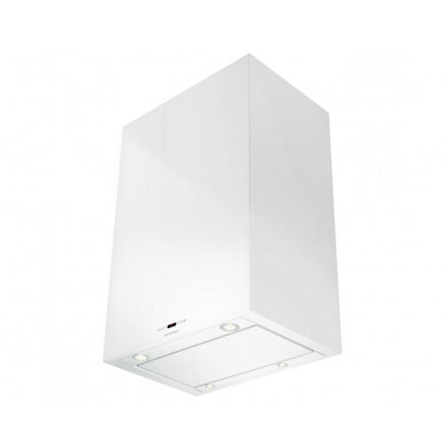 Faber Cubia Isola Gloss PLUS EV8 WH A45 + AKCE Záruka 5 let, Ostrůvková digestoř bílá 45cm