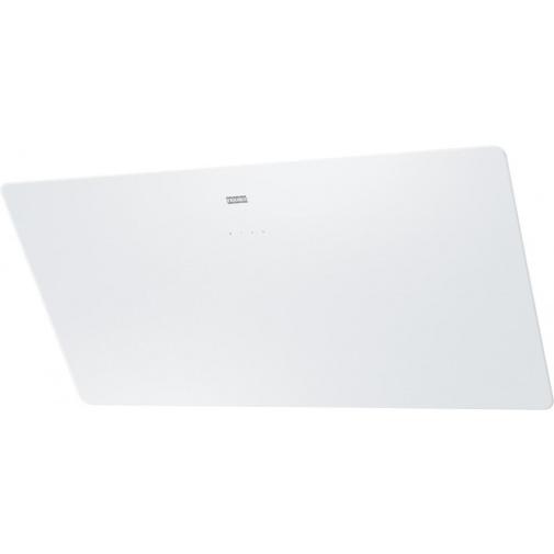 Franke FSMA 905 WH + DÁREK%, Digestoř komínová šikmá Franke Smart  90cm, Bílé sklo