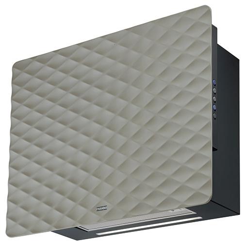 Franke Impress 603 GY kovově šedá + AKCE, Digestoř komínová designová 60cm