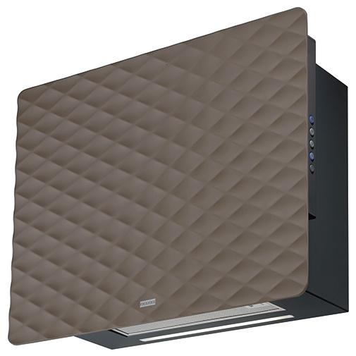 Franke Impress 603 BN čokoládově hnědá + AKCE, Digestoř komínová designová 60cm